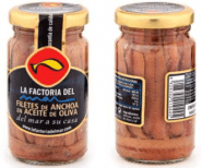 Anchoa Cantábrico Aceite Oliva (14-16 filetes) P. esc.55 gr.
