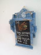 PIZARRAS DOS CUERPOS ,DESCOLGABLE