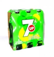 SEVEN UP BOTELLINES PACK 6